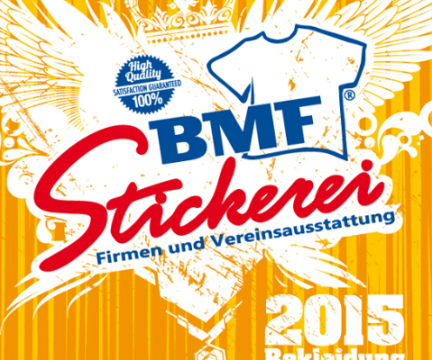 BMF Stickerei Katalog