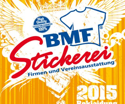 BMF Stickerei Katalog